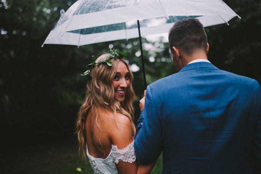 Rainy Wedding Day Inspiration Because It's Not A Bad Thing!